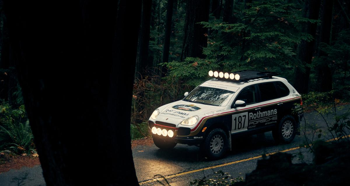 Porsche Cayenne Turbo Safari : inspiration rallye-raid pour le vieux SUV allemand