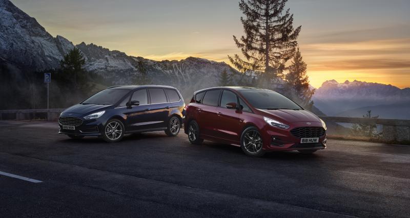 Ford S-Max et Galaxy Hybrid : une nouvelle motorisation plus efficiente pour les monospaces