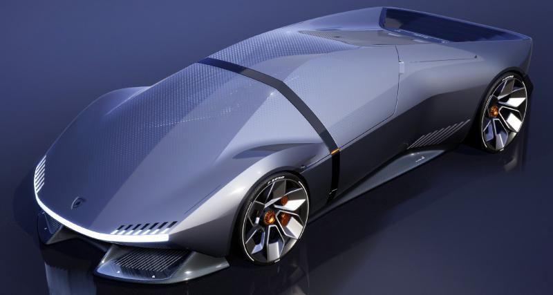 Sans cylindres ni portières, mais que reste-t-il à cette Lamborghini E_X ?