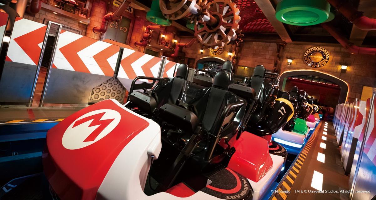 VIDEO - Avis aux fans, le parc Nintendo a ouvert ses portes et l'attraction Mario Kart va vous faire rêver