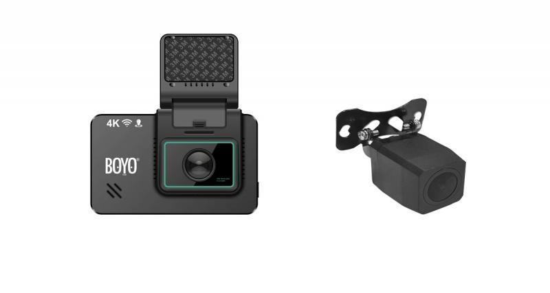 Une nouvelle dashcam 4K chez Boyo