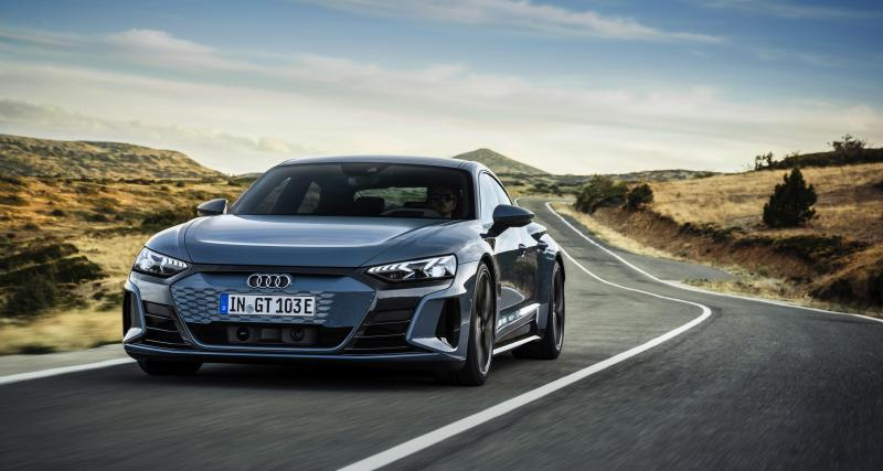 """Nouvelle Audi e-tron GT (2021) : """"plus qu'une voiture électrique, l'icône d'une nouvelle ère"""""""