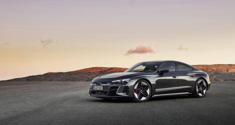 Nouvelle Audi RS e-tron GT (2021) : le coupé quatre portes sportif par excellence