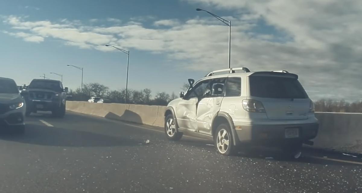 Éjectée de sa voiture sur l'autoroute, cette femme est sauvée par une Tesla (et son conducteur)