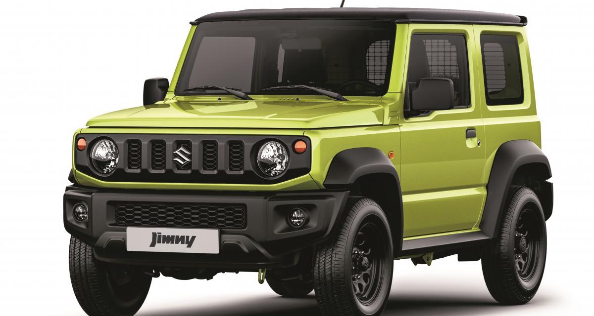 Le Suzuki Jimny débarque en version utilitaire léger à partir de 20 490€