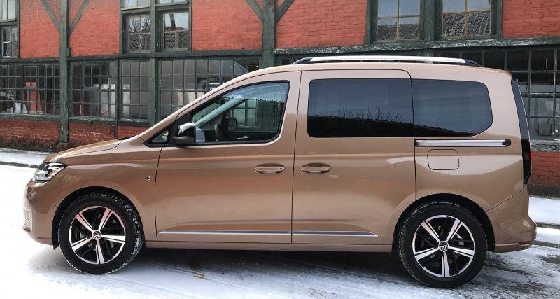 Essai du nouveau Volkswagen Caddy (2021) : nos photos du ludospace de 5e génération