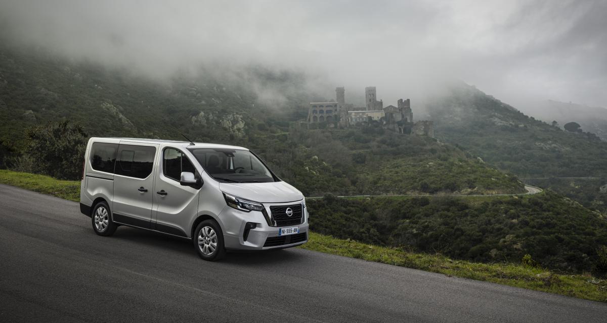 Nouveau Nissan NV300 Combi (2021) : un heureux restylage pour le van nippon
