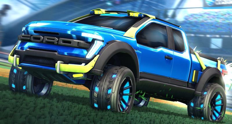 Avec le F-150 sur Rocket League, Ford continue son introduction dans le monde du jeu vidéo