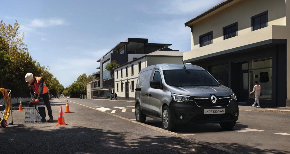 Le nouveau Renault Express Van (2021) en vente à partir de 17.500 € HT