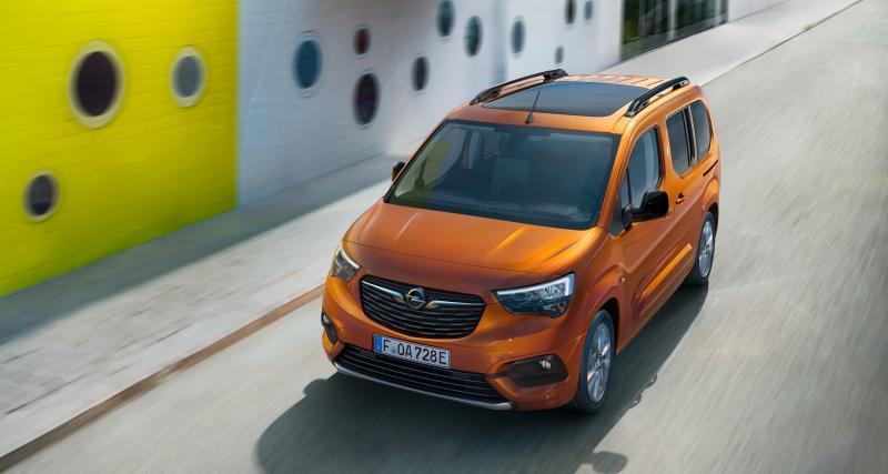 Opel Combo-e Life (2021) : la déclinaison électrique des familles