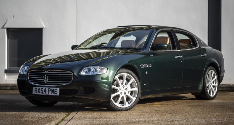 La Maserati Quattroporte de Sir Elton John est à vendre