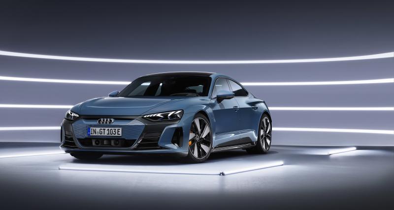 Audi e-tron GT (2021) : le coupé électrique 4 portes en 4 points