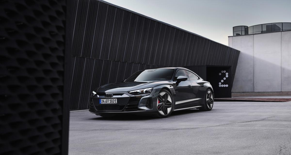 Audi RS e-tron GT (2021) : la super-berline électrique en 3 points