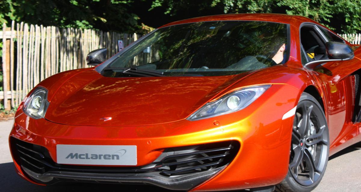 """Flashé à 203 km/h au volant d'une McLaren juste """"pour essayer"""""""