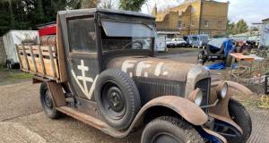 Une Citroën B12 de la résistance française refait surface en Grande-Bretagne