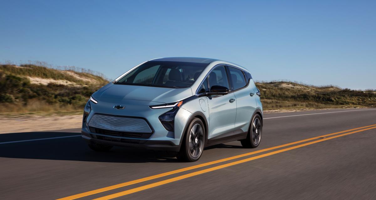 Nouvelle Chevrolet Bolt EV (2022) : la compacte électrique made in the USA