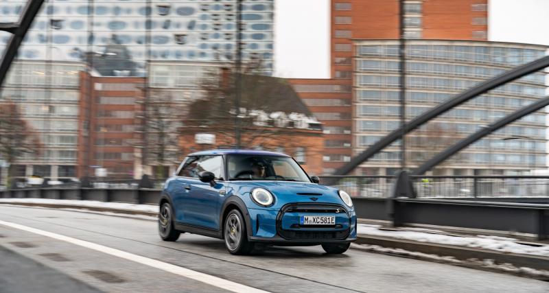 La Mini Cooper SE s'offre une nouvelle finition exclusive Mini Electric Collection