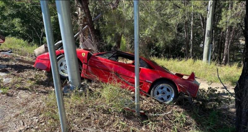 Il vend sa Ferrari pour 1,7M$, la sort pour une dernière virée et l'envoie dans le décor