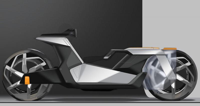 Une moto électrique pour 2030 ?