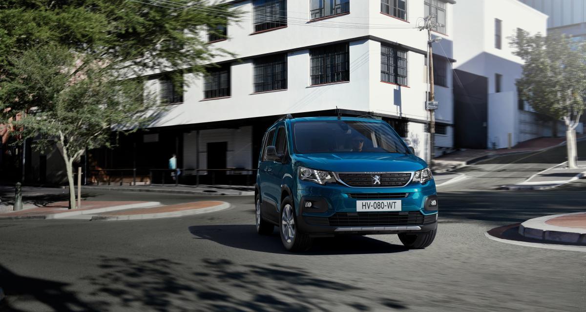 Nouveau Peugeot e-Rifter (2021) : le minivan français écolo qui a du style
