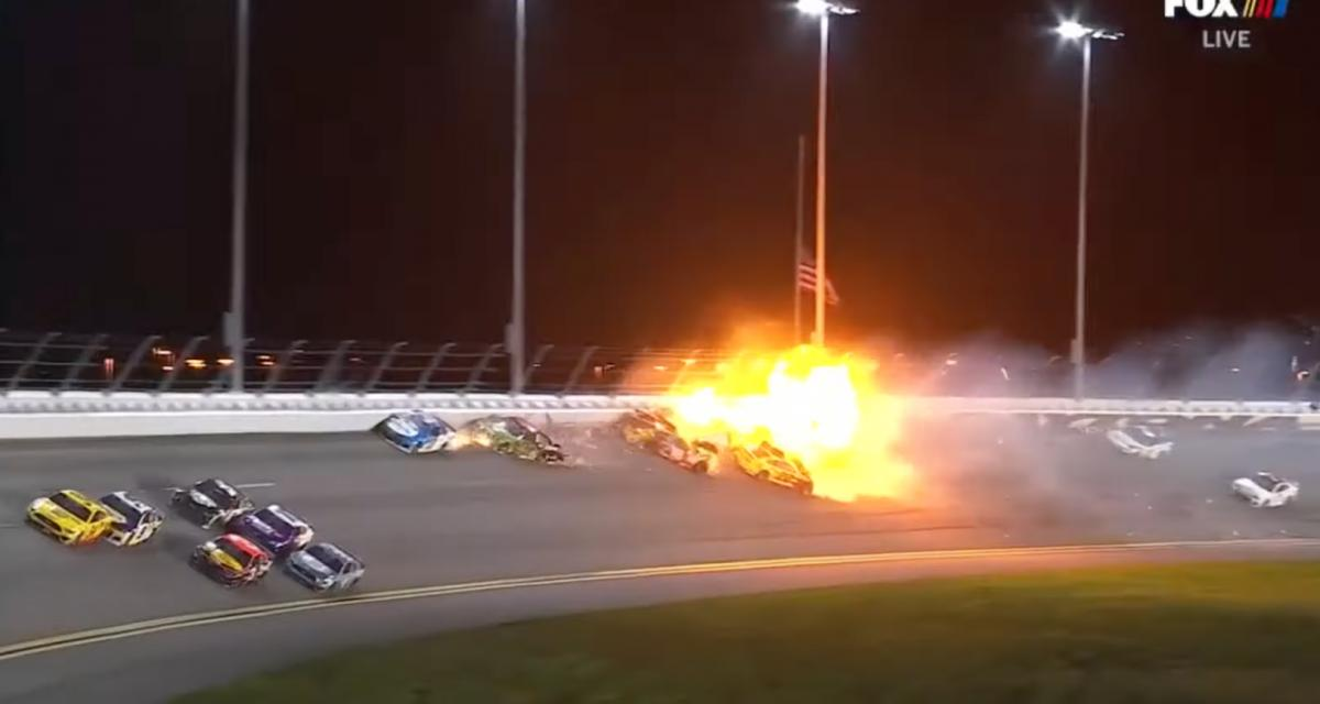 Le Nascar est un sport vraiment très dangereux, nouvelle preuve avec cet accident lors des 500 miles de Daytona