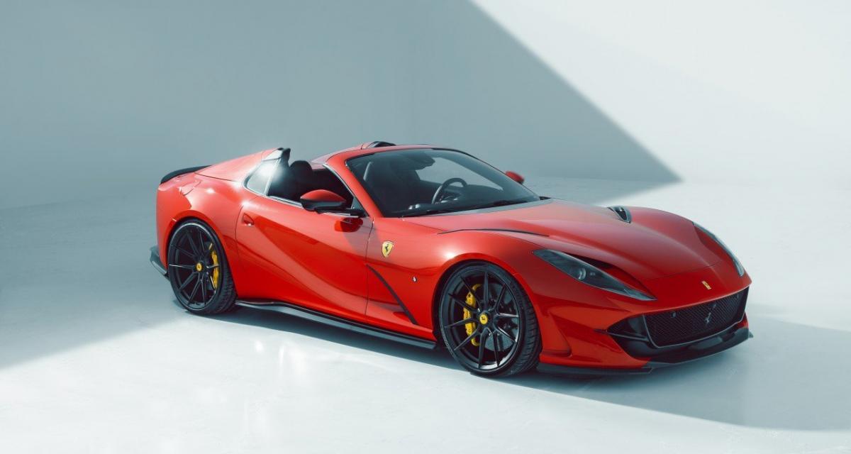 Novitec améliore la Ferrari 812 GTS tout en finesse