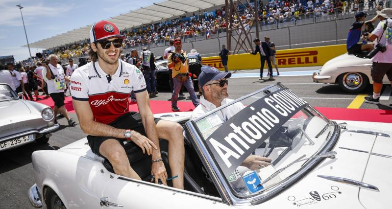 Quel salaire pour Antonio Giovinazzi chez Alfa Romeo en 2021 ?