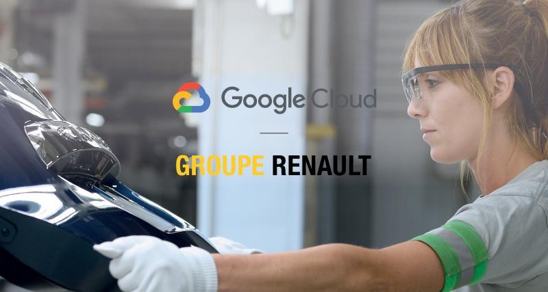 Google se développe chez Renault et surtout chez Ford