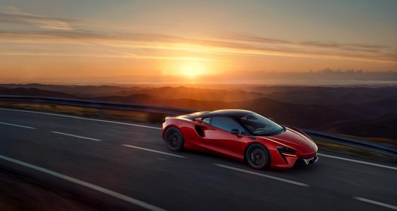 Nouvelle McLaren Artura (2021) : comment être écolo tout en développant 680 ch