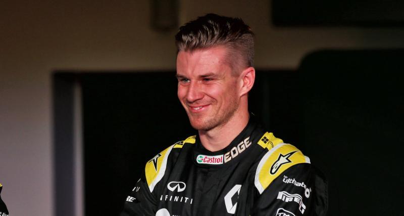 Hulkenberg en pole position pour le remplacer