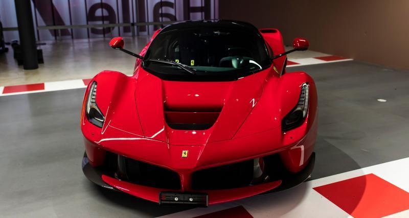 Ferrari, Mercedes… Sebastian Vettel fait le ménage dans son garage de rêve