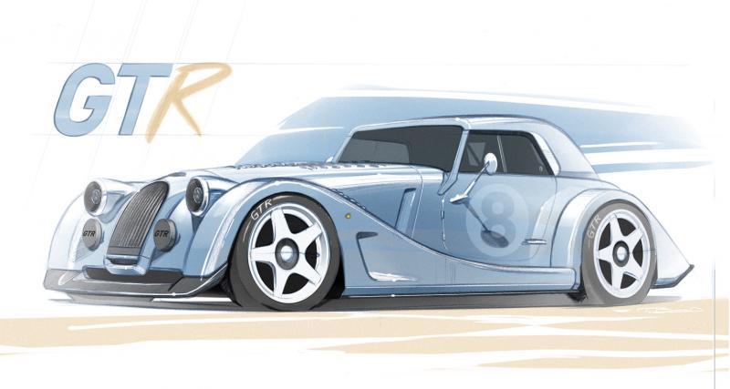 Un nouveau monstre en série limitée pour Morgan, avec la Plus 8 GTR