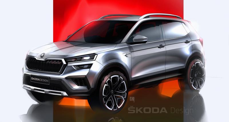 Skoda Kushaq (2021) : ça se précise pour le nouveau SUV compact réservé à l'Inde