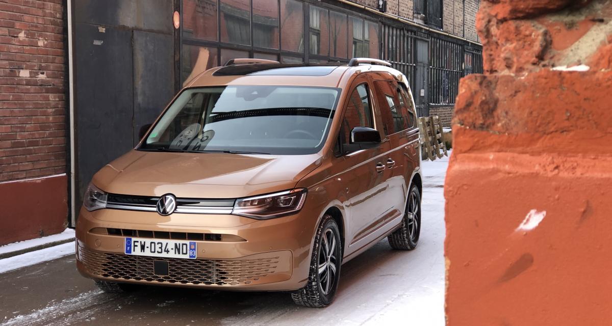 Essai du nouveau Volkswagen Caddy (2021) : ADN de Golf 8
