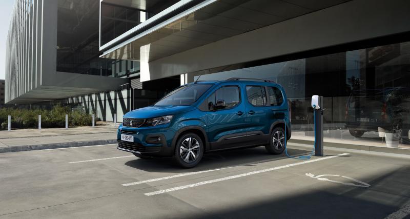Nouveau Peugeot e-Rifter (2021) : le minivan 100% électrique en 3 points
