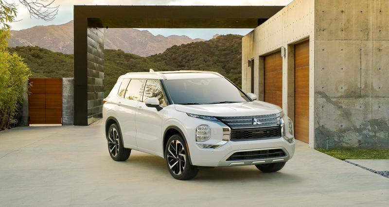 Nouveau Mitsubishi Outlander (2022) : le SUV à succès en 3 points