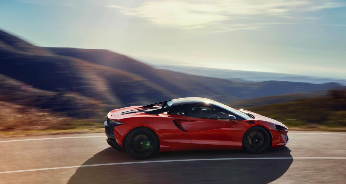 Nouvelle McLaren Artura (2021) : la supercar hybride rechargeable en 3 points