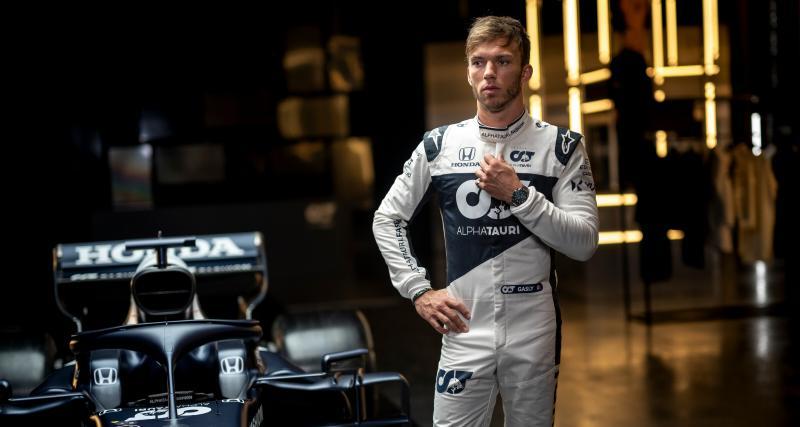 Alpha Tauri AT02 : découvrez la monoplace de Pierre Gasly pour la saison 2021 de F1