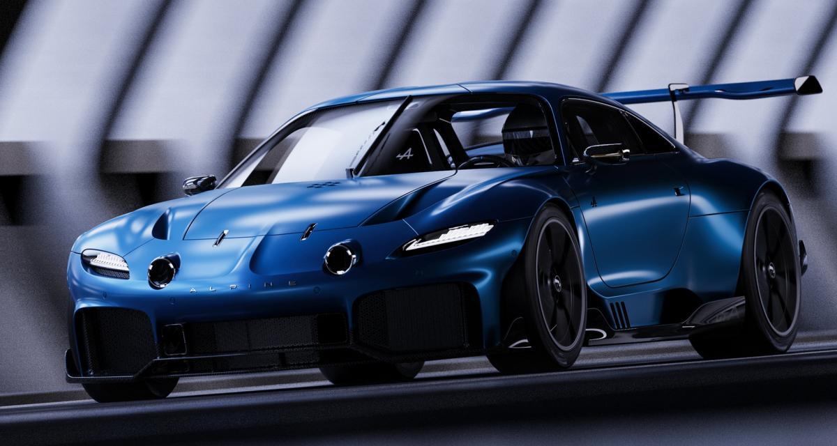 Alpine GTA : ce projet d'un ancien designer de Renault vaut le détour