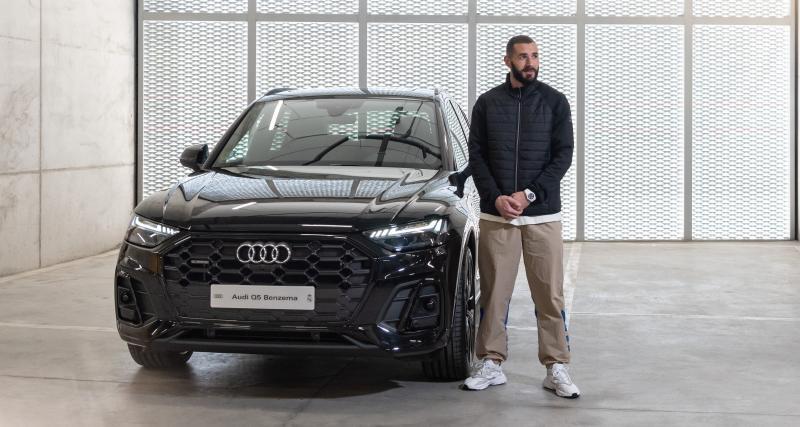 Karim Benzema a choisi sa nouvelle voiture de fonction : un Audi Q5 !