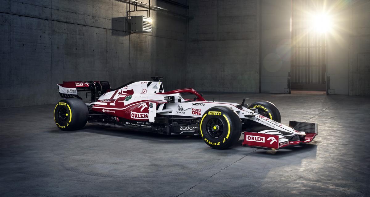F1 : les photos nouvelle Alfa Romeo de Raikkonen et Giovinazzi