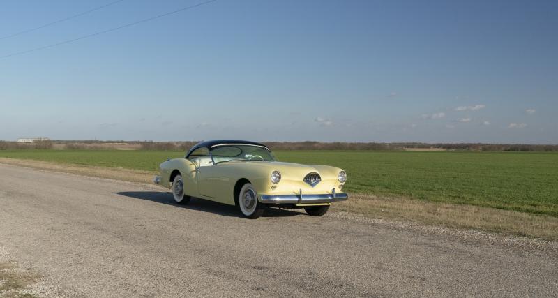 Kaiser-Darrin Roadster : originalité et élégance dans les années 50