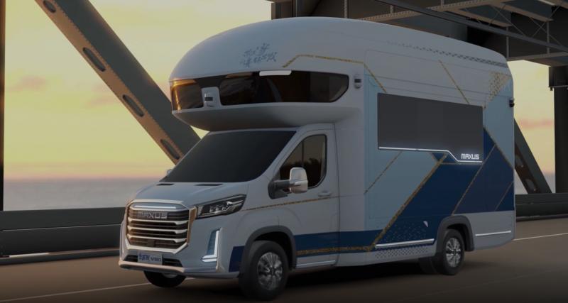Un camping-car à la pointe de la technologie