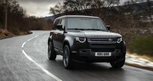 Le nouveau Land Rover Defender maintenant disponible avec un V8 de 525 ch