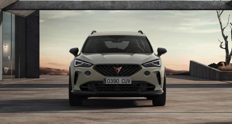 Nouvelle Cupra Formentor VZ5 2021 : le puissant SUV espagnol en 3 points