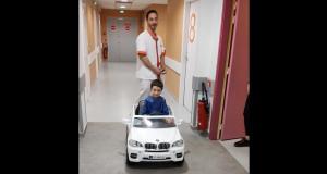 Cet hôpital du Lot-et-Garonne propose aux enfants de se rendre eux-mêmes au bloc opératoire… en voiture