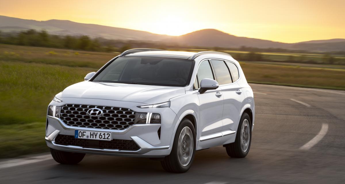 Hyundai lance la production du Santa Fe Plug-in, un SUV hybride rechargeable