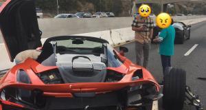 Il envoie une McLaren 720 S de location dans le décor, la police l'humilie sur Twitter