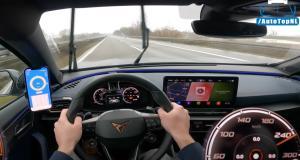 À 254 km/h sur une autoroute mouillée, ce pilote n'a peur de rien au volant de son Cupra Formentor VZ
