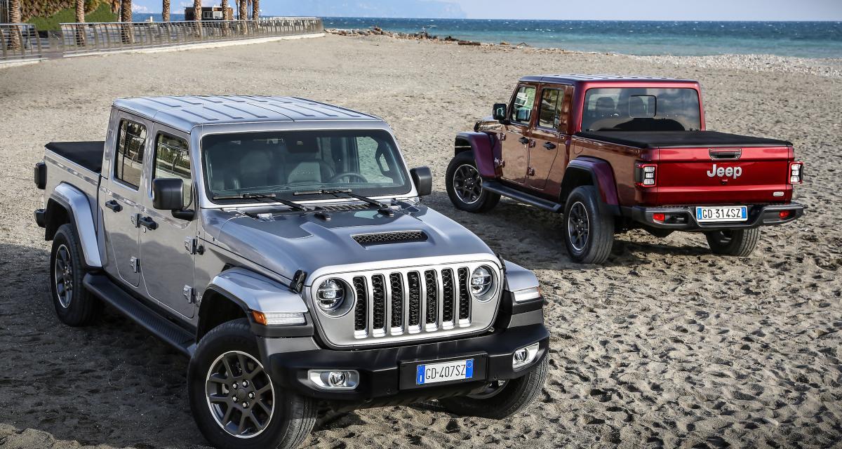 Nouveautés Jeep en 2021 : le Gladiator et le Wrangler 4xe à la une en Europe